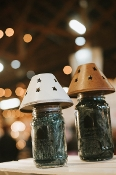 Rustic Candle Lampshade